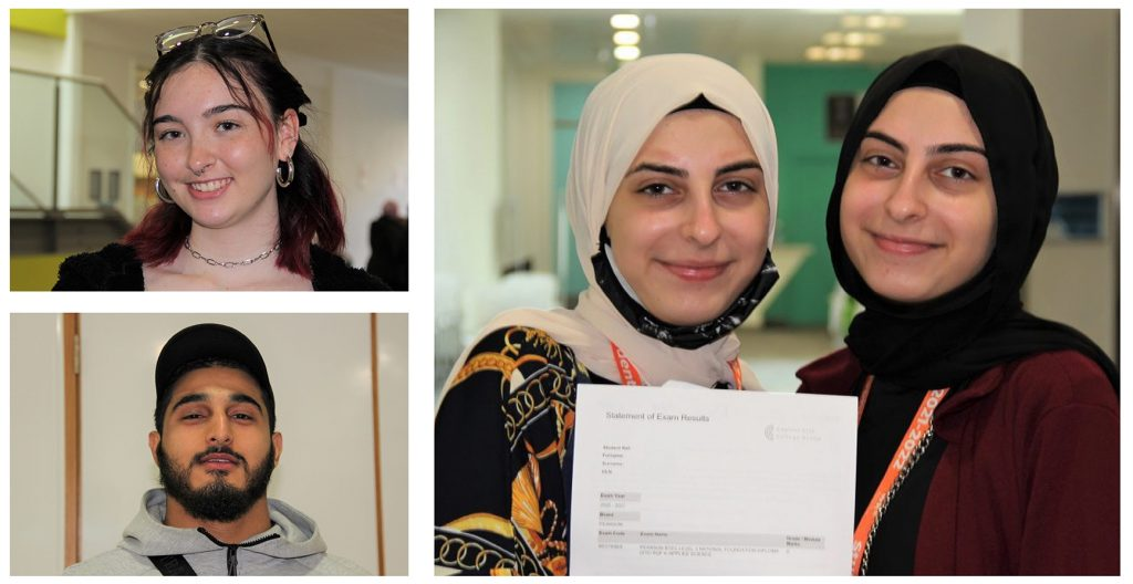 Students praised for 'dedication and perseverance' as they celebrate their A Level results